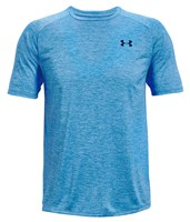 Under Armour Tech Short Sleeve Tee - Mens - Brilliant Blue/Academy