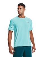 Under Armour Tech Training Tee - Mens - Breeze/Black