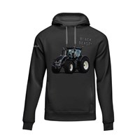 Mc Keever Black Beast Farm Range Hoodie - Mens - Black/Grey