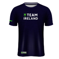 Mc Keever Team Ireland Tech Knit Tee - Mens - Navy