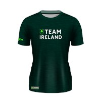 Mc Keever Team Ireland Tech Knit Tee - Womens - Green