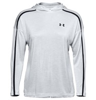 Under Armour Tech Twist Graphic Hoodie - Womens - Halo Grey/Black