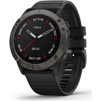 Garmin Fenix 6X Smart Watch - Sapphire/Carbon Grey DLC
