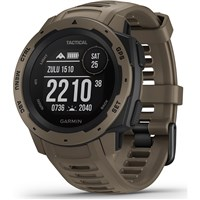 Garmin Instinct Tactical GPS Smart Watch - Coyote Tan