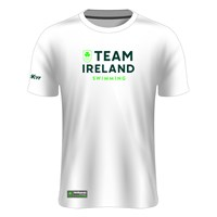 Mc Keever Team Ireland Tech Knit Tee - Adult - Swimming