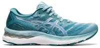 Asics Gel-Nimbus 23 Running Shoes - Womens - Smoke Blue/Pure Silver