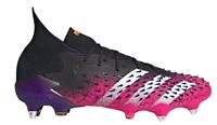 adidas Predator Freak.1 SG Football Boots - Mens - Black/White/Shock Pink