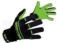 Atak Griptex Gloves - Adult - Black/Green