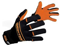 Griptex Gloves - Youth - Black/Orange by Atak