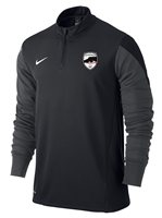 Nike County Sligo GAA Supporters Squad 1/4 Zip - Black