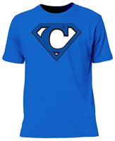 The GAA Store Connacht Super Supporters Tee - Adult - Blue