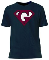 The GAA Store Galway Super Supporters Tee - Adult - Navy