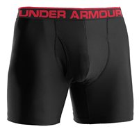 Under Armour Original Heatgear 6 inch Boxerjock - Black/Red
