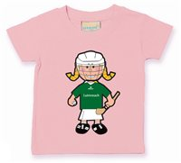 The GAA Store Limerick Baby Mascot Tee - Girls - Camogie - Pale Pink