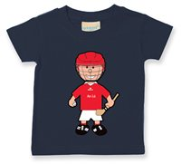 The GAA Store Louth Baby Mascot Tee - Boys - Hurling - Navy