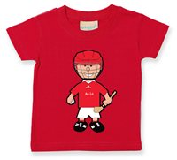 The GAA Store Louth Baby Mascot Tee - Boys - Hurling - Red