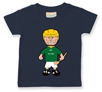 The GAA Store Meath Baby Mascot Tee - Boys - Hurling - Navy