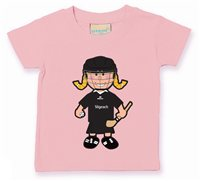 The GAA Store Sligo Baby Mascot Tee - Girls - Camogie - Pale Pink