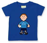 Dublin Baby Mascot Tee - Boys - Football - Royal by The GAA Store