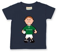 The GAA Store Fermanagh Baby Mascot Tee - Boys - Football - Navy
