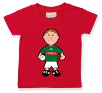 The GAA Store Mayo Baby Mascot Tee - Boys - Football - Red