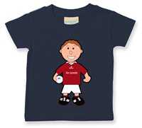 The GAA Store Westmeath Baby Mascot Tee - Boys - Football - Navy