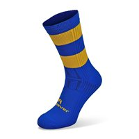 Mc Keever Pro Mid Hooped Socks - Adult - Royal/Gold