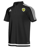 adidas County Limerick Tiro 15 Polo - Adult - Black