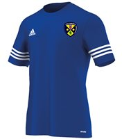 Adidas County Cavan GAA Entrada 14 Tee - Youth - Royal
