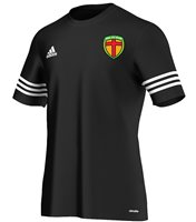 Adidas County Donegal GAA Entrada 14 Tee - Youth - Black/White
