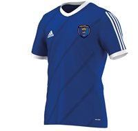 Adidas County Munster GAA Tabela 14 Tee - Adult - Royal/White