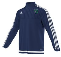 Adidas County Fermanagh Tiro 15 Quarter Zip - Youth - Navy