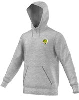 adidas County Limerick Core 15 Hoodie - Youth - Grey