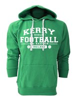Mc Keever Kerry Football GAA Supporters Hoodie - Mens - Green