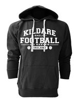 Mc Keever Kildare Football GAA Supporters Hoodie - Mens - Black