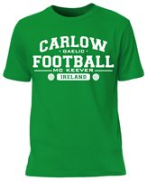 Mc Keever Carlow Football GAA Supporters Tee - Mens - Green