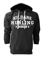 Mc Keever Kildare Hurling GAA Supporters Hoodie - Mens - Black