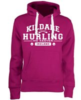 Mc Keever Kildare Hurling GAA Supporters Hoodie - Womens - Pink