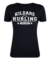Mc Keever Kildare Hurling GAA Supporters Tee - Womens - Black