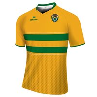 Mc Keever Leitrim GAA Jersey (Youth) - Yellow