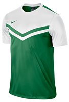 Nike Victory II Jersey Short Sleeve - Pine Green/White - Adult