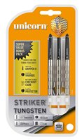 Unicorn Striker 80% Tungsten Knurled 27 Gram Darts - Set of 3