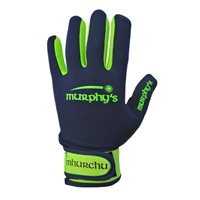 Murphy's Gaelic Gloves - Adult - Navy/Lime