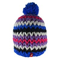Red Hot Asti Woolly Hat - Youth - Royal/Black