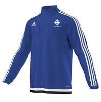 adidas Club Northern Ireland FC Tiro 15 Quarter Zip - Youth - Royal