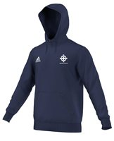 adidas Club Northern Ireland FC Core 15 Hoodie - Adult - Navy