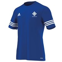 adidas Club Northern Ireland FC Entrada 14 Tee - Adult - Royal