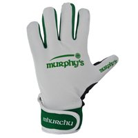 Murphy's Gaelic Gloves - Adult - White/Green