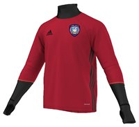 adidas County Cork GAA Condivo 16 Training Top - Adult - Red/Black