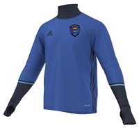 adidas County Munster GAA Condivo 16 Training Top - Adult - Blue/Navy